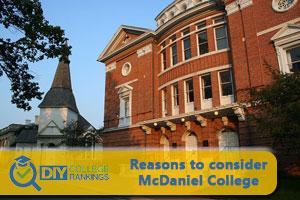 McDaniel College campus