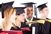 Diverse Graduates showing colleges for African-American students