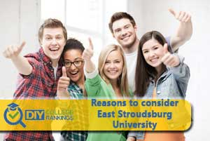 Students happy at East Stroudsburg University