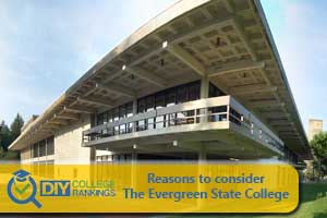 The Evergreen State College campus