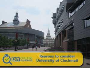 University of Cincinnati campus