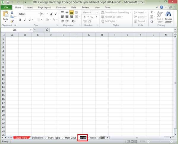 Rename Excel worksheet tab