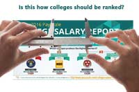 PayScale college rankings