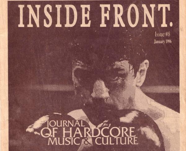 Inside Front #8 Zine