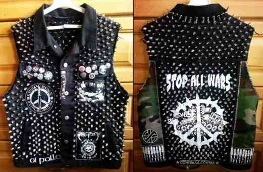 studded vest diy punk