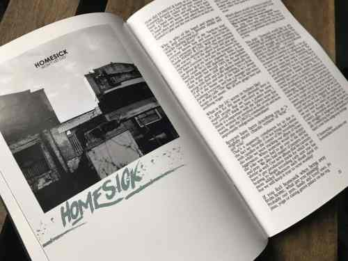 xclusiv zine homesick