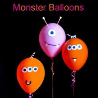 "How to make ""Monster Balloons"" with your kids"