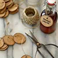 How To Make Wooden Tree Branch Gift Tags