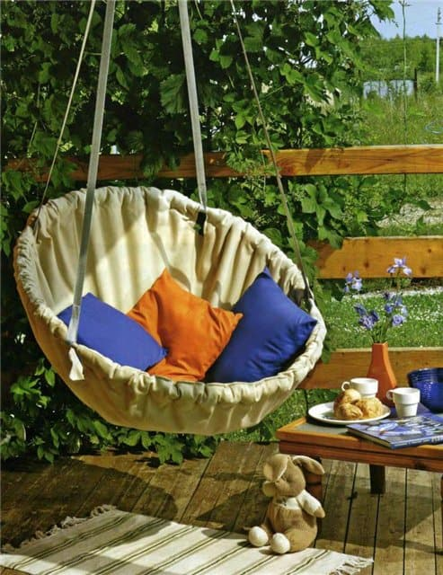 how to make a hanging chair zero gravity outdoor lounge diy circular
