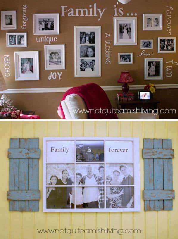 Sharing Family Values In Your Home Decor DIY Cozy Home