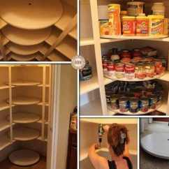 How To Add A Pantry Your Kitchen Whitewash Cabinets Lazy Susan Disks