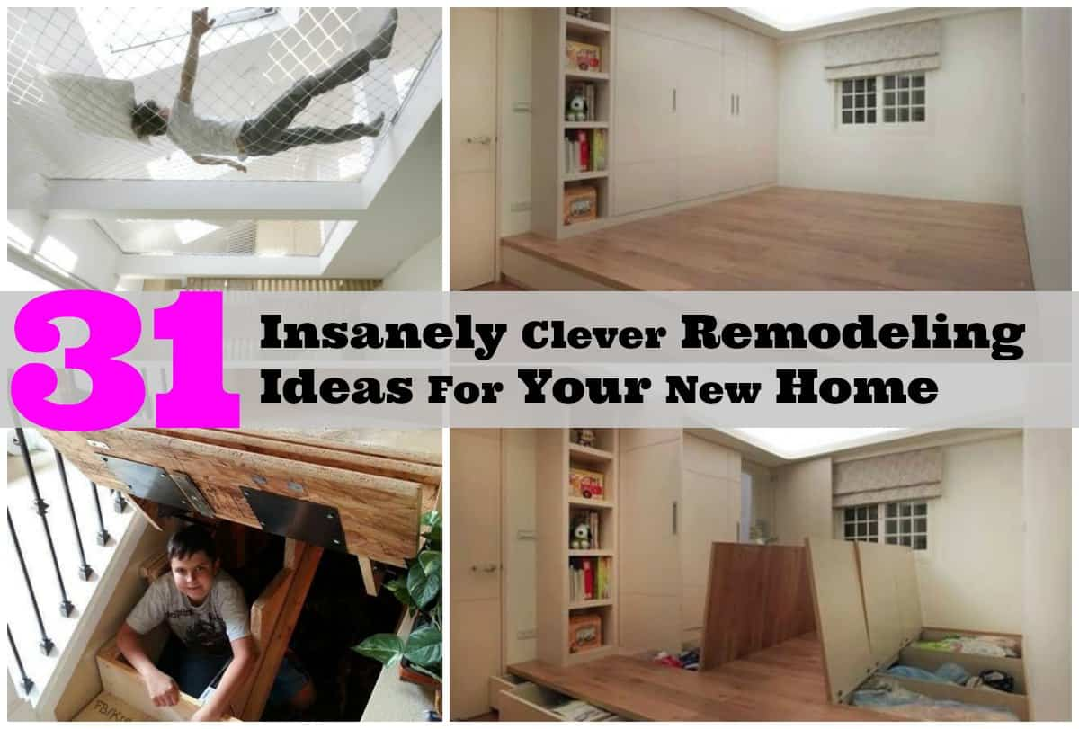 Totally Creative Remodeling Ideas For A Brand New Home  DIY Cozy Home