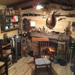 Camo Office Chair Swivel Chairs Canada Guy Builds A Man Cave That Looks Like It's Straight From The Wild West | Diy Cozy Home
