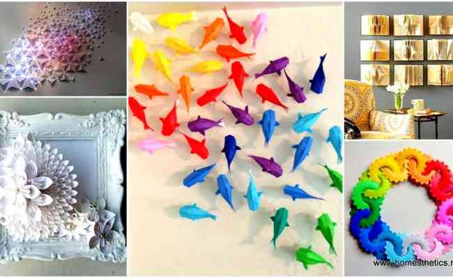 30 Stunningly Creative Examples Of Diy Paper Art