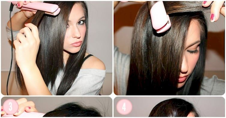 Clever Ways To Use A Hair Straightener DIY Cozy Home