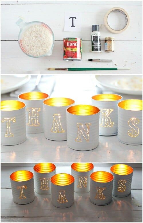 25 Crafty DIY Projects Using Tin Cans  DIY Cozy Home