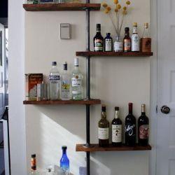 Amazing 30+ DIY Industrial Pipe Shelves