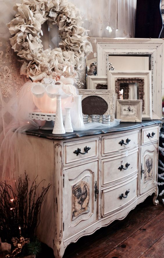 100 Awesome DIY Shabby Chic Furniture Makeover Ideas