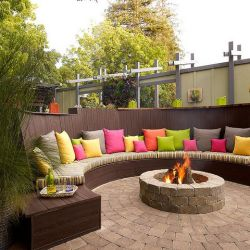 Amazing 50+ DIY pergola and fire pit ideas