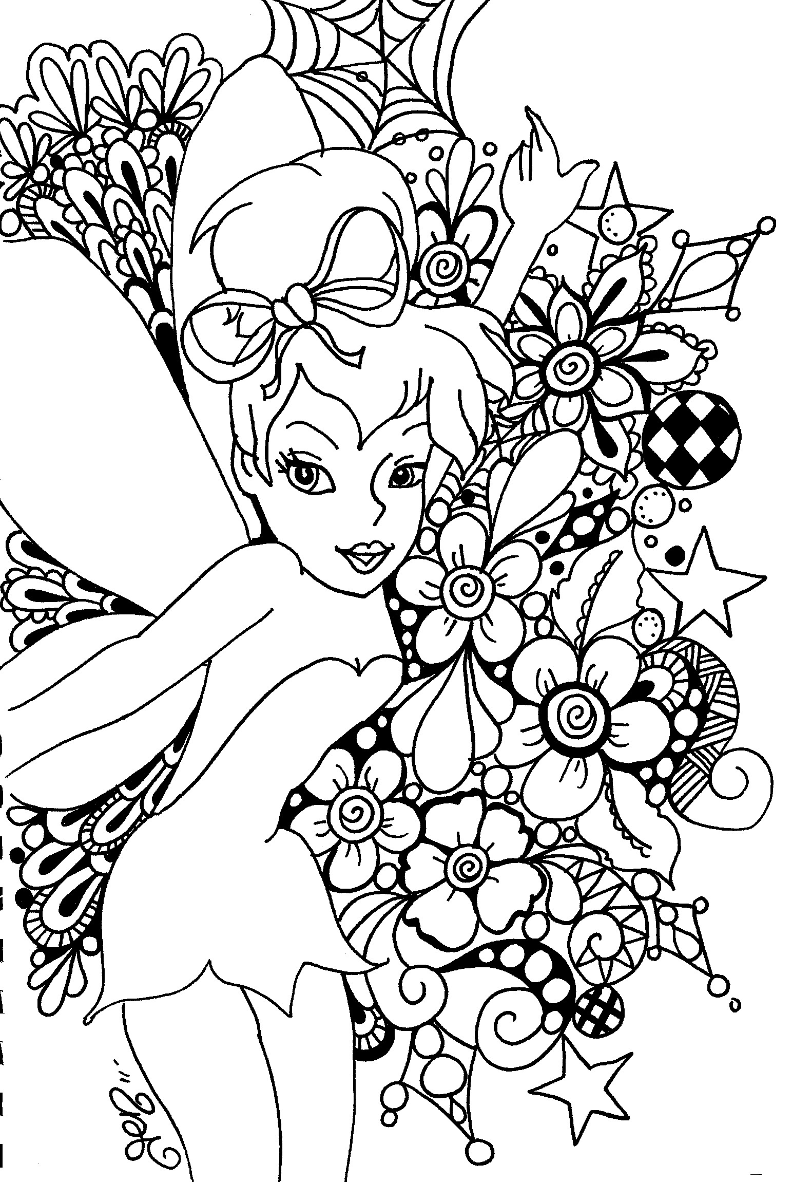 #60 Tinkerbell Birthday Party Ideas & Tinkerbell Coloring