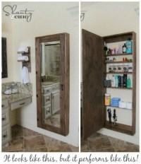 DIY Clever Storage Ideas : 15 Bathroom Organization and