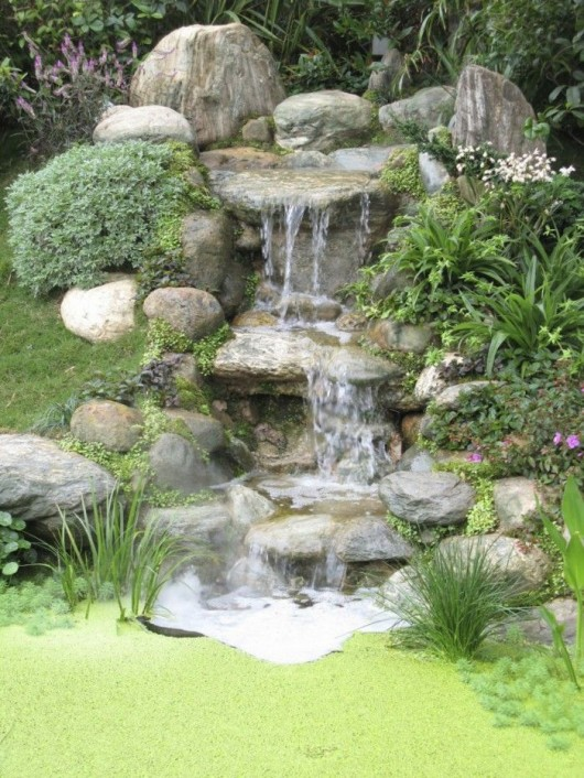 Diy Pond Waterfall