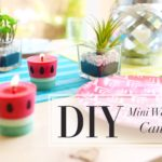 17 DIY Candles to Embellish your House Diy Craft Ideas