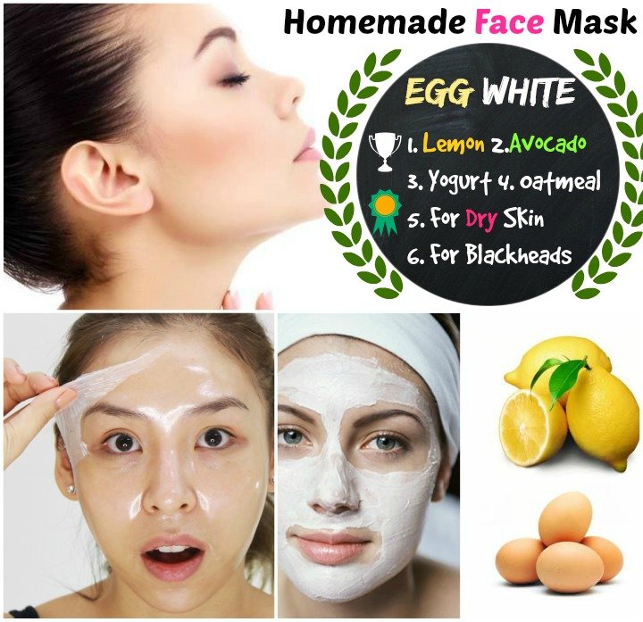 6 DIY Homemade Egg White Face Mask Skin Feels Soft and