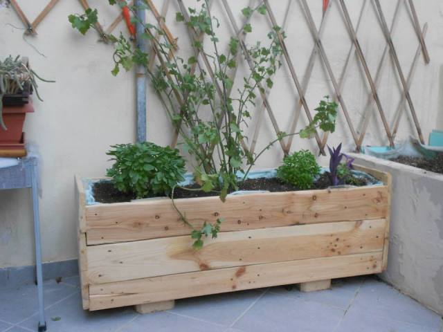 Build Your Own Vegetable Planter Box
