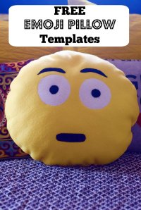 DIY Emoji Pillows #2 No Sew and Sew & Glue Method (With ...