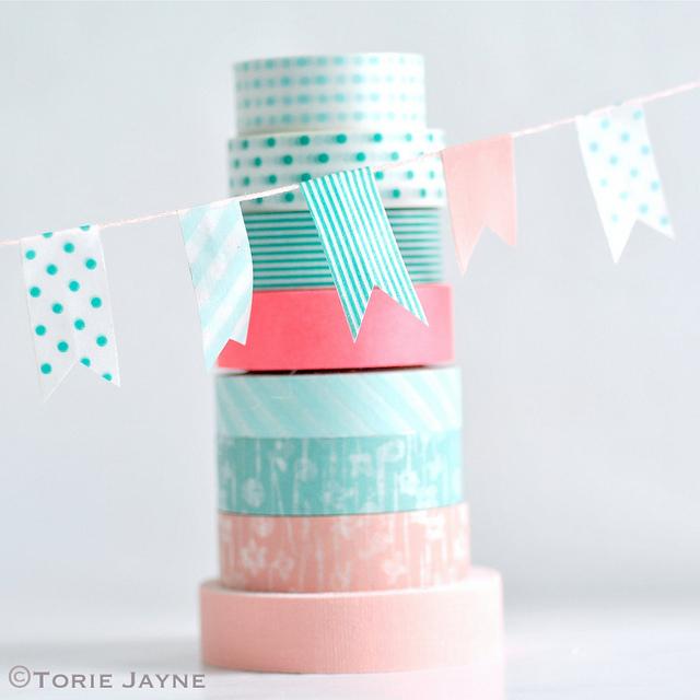 DIY Washi Tape Craft Ideas #37 Washi Tape Organizer And Arts