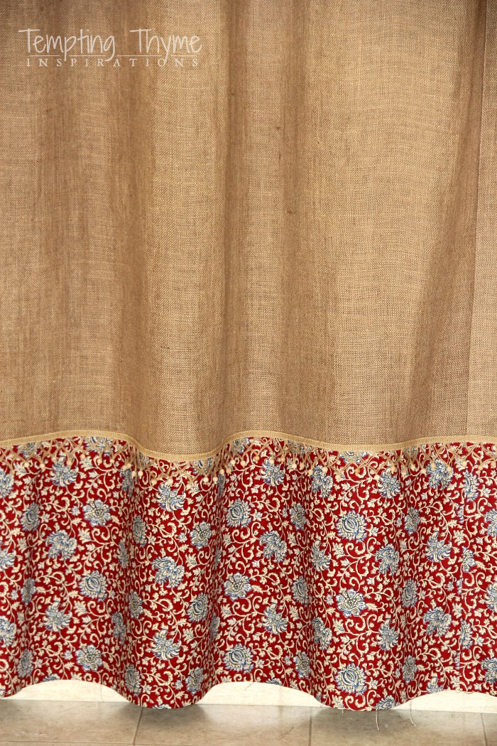 How to make lined burlap curtains for Curtain making service