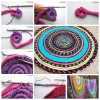 33 Modish DIY Rugs: Rugs / Carpet Mats Out of Old Clothes ...