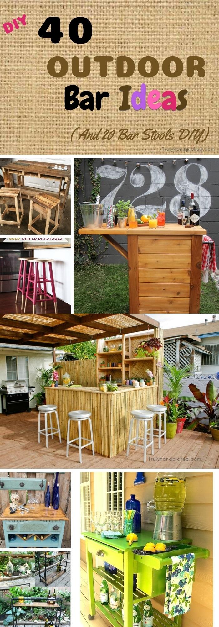 40 diy outdoor bar ideas inexpensive