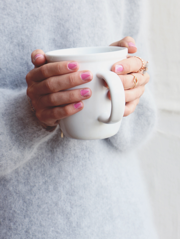 The Pale Pink Nail Tutorial You Need For Fall