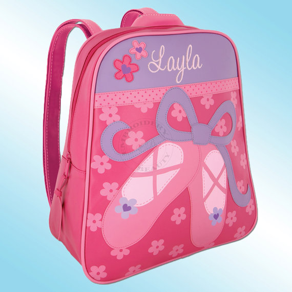 Backpack – Personalized and Embroidered – Go Go Bag – BALLET SHOES by TheBoutiqueByEB