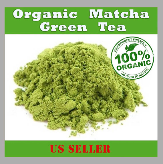 Organic Matcha Green Tea Powder, FREE Expedited 1-3 Day Shipping by RedLeafTea