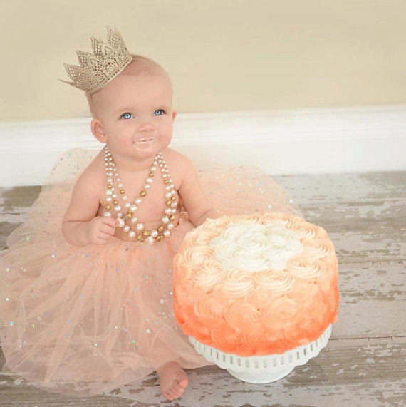 NEW – Large Lace Crowns – newborn photo shoot, costume, mint, photo prop, girl, queen, princess, halloween by JamesonMonroe