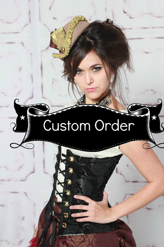 Custom Fit To You Torian Corset by damselinthisdress