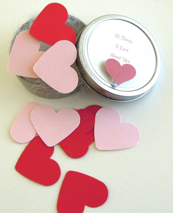 10 Things I Love About You Tin – Anniversary / Love Gift by matdi123