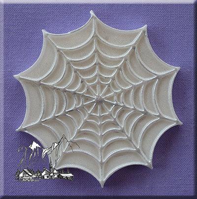 Food Grade Mold (M116) – Cobweb Decorative Cupcake Topper – Flexible Cupcake Decorating Mold – Reusable – The Art of Cake Dressing by SourceHelper