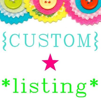 Custom listing for Evelyn by HollandFabricHouse