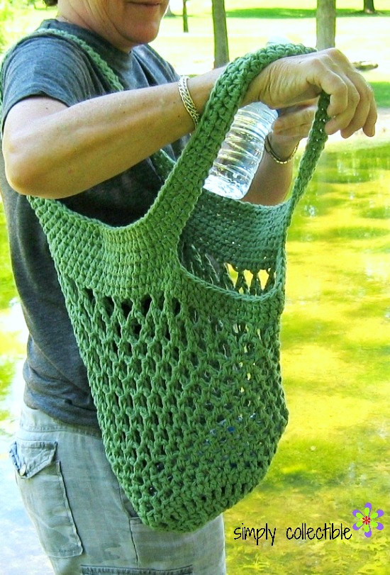 Sturdiest Ever Market Bag crochet pattern by SimplyCollectible