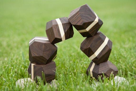 zenblocks (striped walnut) by zenblocks