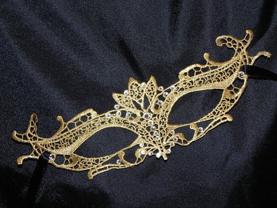 Lace Masquerade Mask – Available in Many Colors by TheCraftyChemist07
