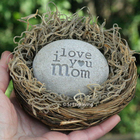 Mother's day gift – message nest by sjEngraving by sjengraving
