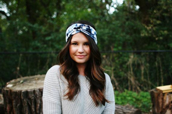 Back Splash – Turban Style Headband by RaynaJaye