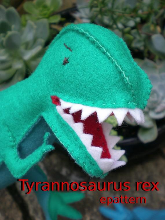 Tyrannosaurus rex epattern by tiddliwinktoys