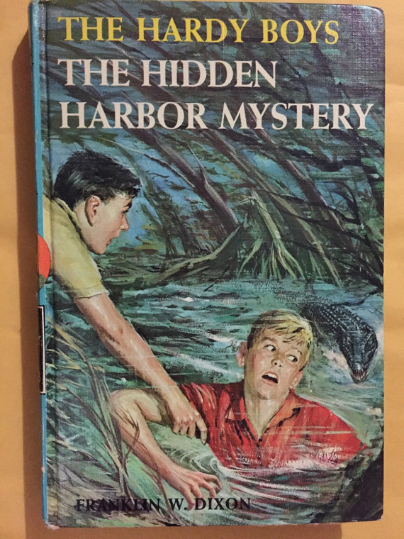Hardy Boys Mystery Series Hidden Harbor Mystery 1961 Grosset & Dunlap 20 chapters by vintagebooklover