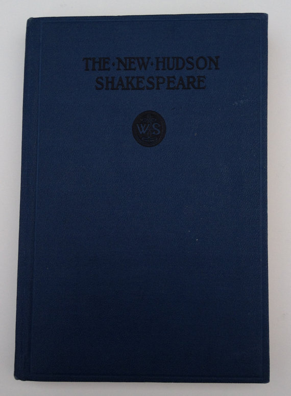 The Tragedy of King Lear – The New Hudson SHAKESPEARE 1911 Hardcover Book by Vintageworks